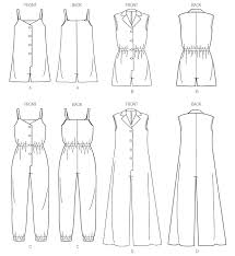 Women's Romper Pattern Adorable Jumpsuitromper Pattern With No Waist Seam Sewing Discussion Topic