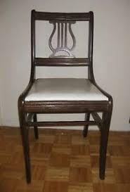 Duncan Phyfe Lehrharp Back Antique ChairsSet of 4 City of Toronto Toronto