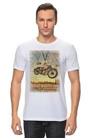 Футболка классическая <b>Vintage Motorcycle</b> Show #1545199 от ...