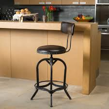 faux leather bar stools. Full Size Of Modern Bar Stools For Kitchen White Color Faux Leather Seat Light Brown With
