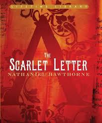Scarlet Letter Book Cover The Scarlet Letter By Nathaniel Hawthorne Bargain Booksamillion