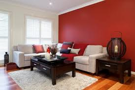this is the related images of Red Wall Living Room .