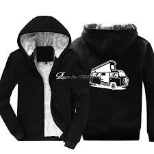 Us 34 78 29 Off Print Novelty Sweatshirt Man T2 Bus New Mens Weird Hoodie Cotton Jacket Hoody Man Jacket Tops Harajuku Streetwear In Hoodies
