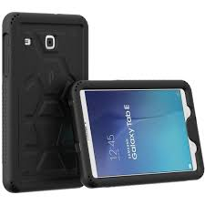 Galaxy Tab E 9.6 Case - Poetic TurtleSkin Series [Corner/Bumper Protection][Grip][Sound-Amplification][Bottom Air Vents] Protective Silicone for Amazon.com: [Corner