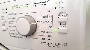 power consumption of washing machine