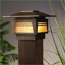lighting outdoor post lights with sensor 44 outdoor solar lighting luminar outdoor 93863 4 piece