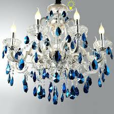 blue crystal chandeliers together with blue crystal chandelier parts 786