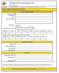 Requisition Form In Excel Gorgeous Purchase Order Form Excel Purchase Request Form Order Template Free