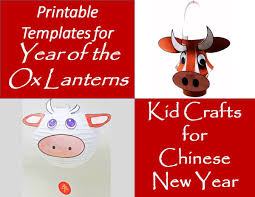 In the chinese zodiac, the ox is very hardworking and methodical. Year Of The Ox Lanterns For The Chinese New Year Printable Templates Holidappy Celebrations