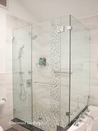modernize your bathroom with a frameless glass shower enclosure and tempered glass shower walls glass