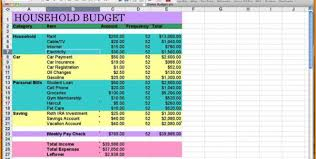 Sample Monthly Household Budget Basic Monthly Budget Barca Fontanacountryinn Com