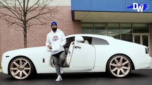 Odell Beckham Jr Custom Rolls Royce Wraith Exclusive Footage