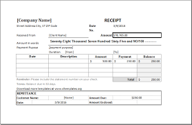 Payment Receipt Format In Word Cheque Payment Receipt Format In Word Money Receipt Format 5