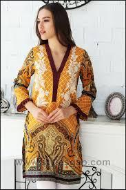 Pakistani Silk Kurtis Designs Summer Fashion Lawn Kurti Designs Trends Latest Collection