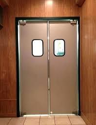 kitchen swinging door restaurant doors modest in swing ideas creative gallery with window kitchen swinging door