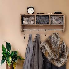 rustic coat rack coat rack wall