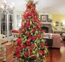 Beautiful Deco Mesh Christmas Tree From Ladybug Wreaths