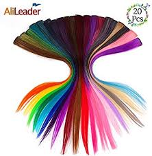 AliLeader 20pcs Straight Colorful Hair Clips ... - Amazon.com