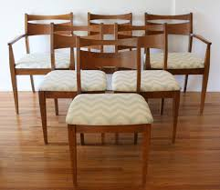 modern dining chairs set mid century modern dining chair set and broyhill brasilia dining table