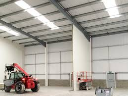 firewall partitions for industrial unit