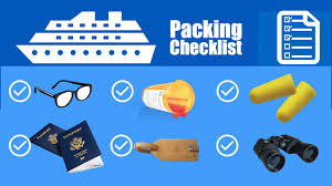Vacation Packing Checklist Pdf Cruise Packing List Pdf Free Printable Download The