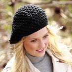 How to wear crochet beret hat
