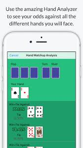 Texas Holdem Hand Odds Chart Texas Holdem Poker Odds Calculator Calculate Chances To