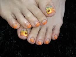 Nails Solunaフットネイル