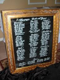 Mirror Table Seating Chart Calligraphy On Mirror Lettering Art Studio