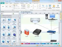 detail network diagram software  free examples and templates downloadsdetail network diagram software