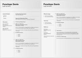 Professional Legal Resume Template V4