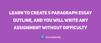how to write a paragraph essay outline template and sample  5 paragraph essay inspiration quote
