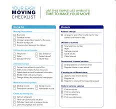 Free Printable Moving Checklist Check List For Moving Rome Fontanacountryinn Com
