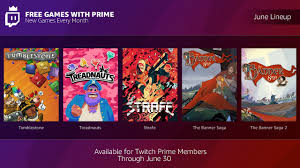 Free Design Games Twitch Prime Members Add More Awesome To Your Game