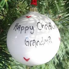 Personalisierten Weihnachtskugeln Weihnachten Handwerk Ideen