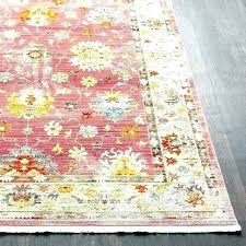 full size of payne hand woven bright pink blush area rug fl rugs colored southwestern border