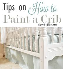 paint the crib with non toxic voc free paint before baby number 2 comes along to switch things up without ing entirely new furniture