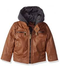 urban republic leather quilted sleeves