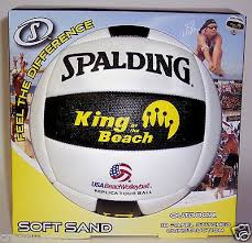 Volleyballs Sporting Goods SPALDING KING OF THE <b>BEACH</b> ...