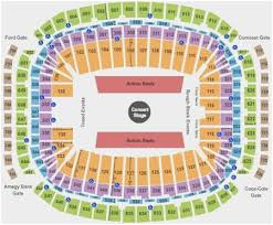Nrg Seating Chart Concert 44 Specific Reliant Stadium Texans Seating Chart