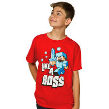 JINX : Minecraft Like a Boss Youth Tee