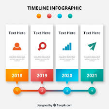 timrline infographic timeline design vector free download