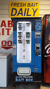 Used Live Bait Vending Machine For Sale Awesome The Frozen Bait Box Live Bait Vending