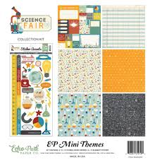 science fair mini themes echo park paper co  sw9004 science experiment sw9005 science fair collection kit