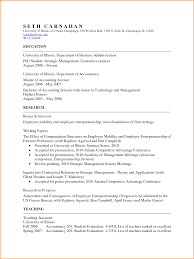 How To Create An Academic Resume Resume Template
