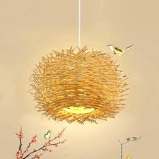 birds nest hanging lamp birds nest hanging lamp creative modern feather pendant light fashion birds nest