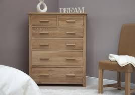 Opus Bedroom Furniture Opus Solid Oak Large 6 Drawer Chest Oak Furniture Uk