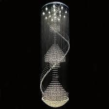 swarovski crystal lighting. Delighful Lighting Chandelier Surprising Long Crystal Chandelier Swarovski Chandeliers  Spin With Silver Metal For Lighting I