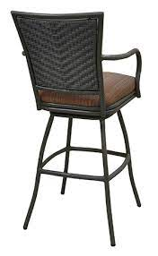 extra tall 35 inch outdoor patio bar
