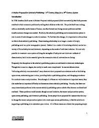 a modest proposal for scholarly publishing st century ideas for a modest proposal for scholarly publishing 21st century ideas for a 19th century system by shawn martin